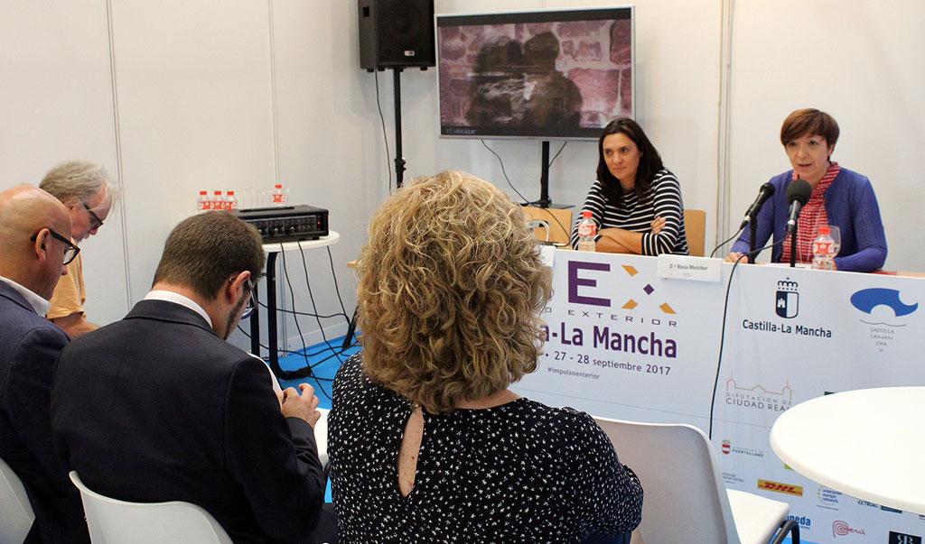 """Universidad Internacional de Riego participa en la Feria de Negocio Internacional """"IMEX Castilla-La Mancha"""""""