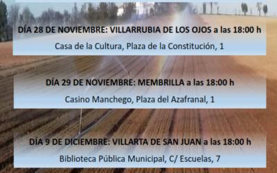 JORNADAS FORMATIVAS PARA LOS REGANTES DE LA CUAS MANCHA OCCIDENTAL 1